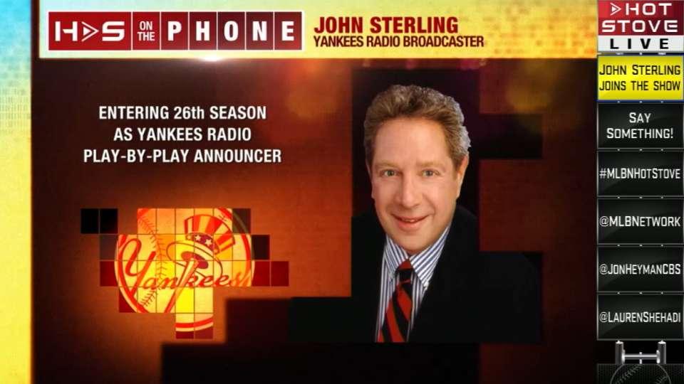 Hot Stove: John Sterling