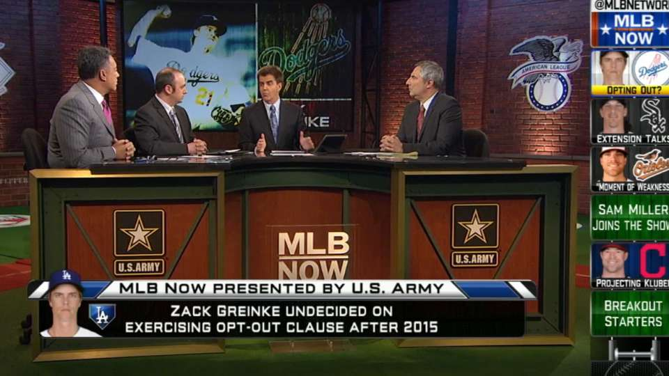 MLB Now: Greinke and Samardzija