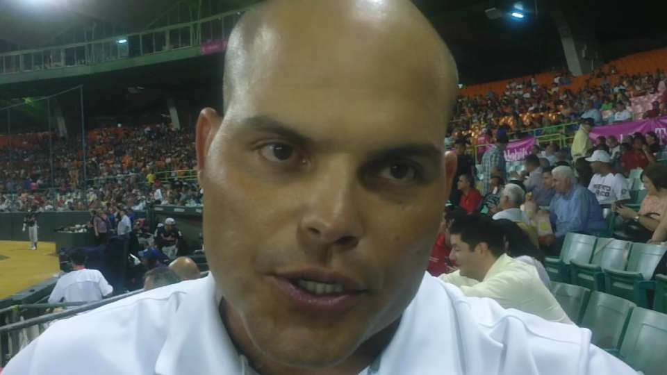 Pudge on Caribbean Series