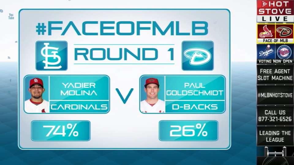 Face of MLB: Goldschmidt vs Yadi