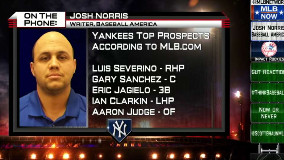 Norris on Yankees prospects