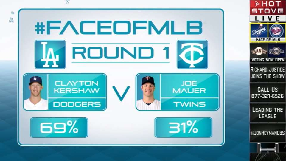 Face of MLB: Kershaw vs. Mauer
