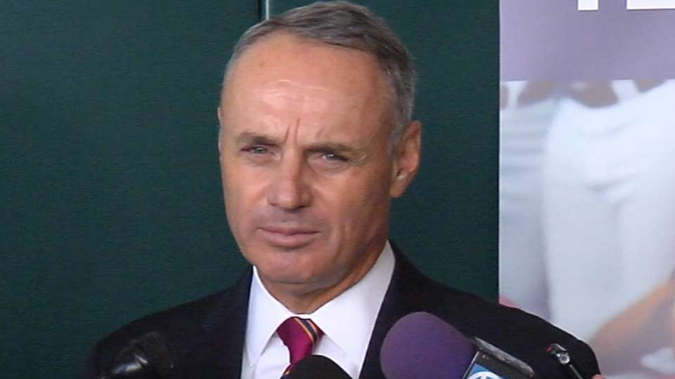 Manfred discusses new role