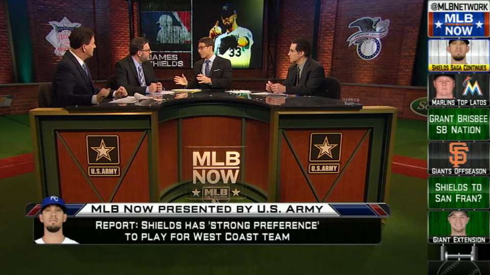 MLB Now on Shields' future