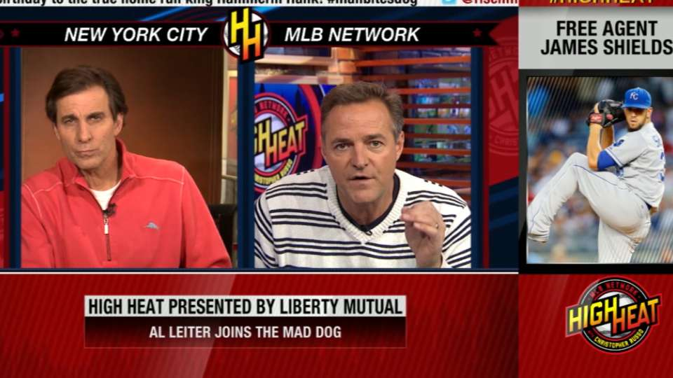 Leiter on Shields and Yankees