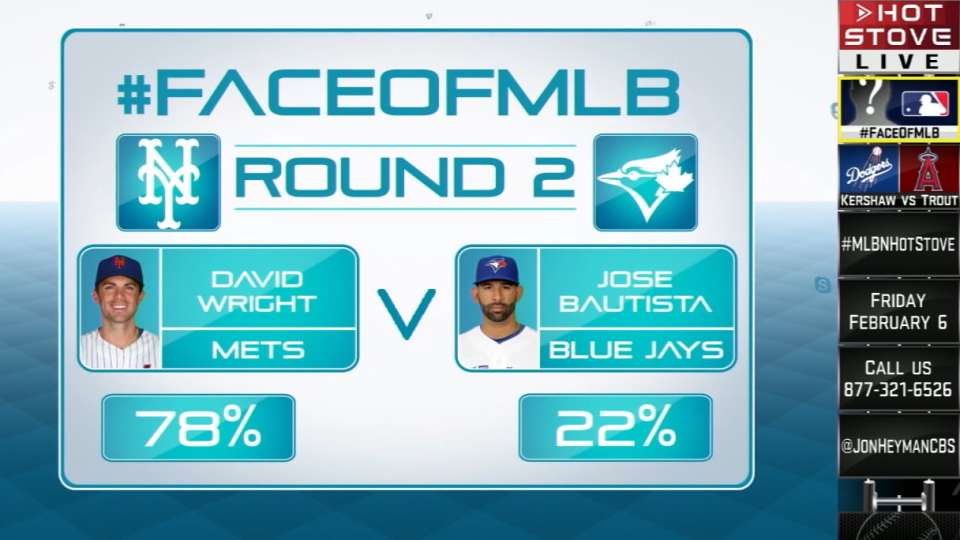 Face of MLB: Wright vs. Bautista