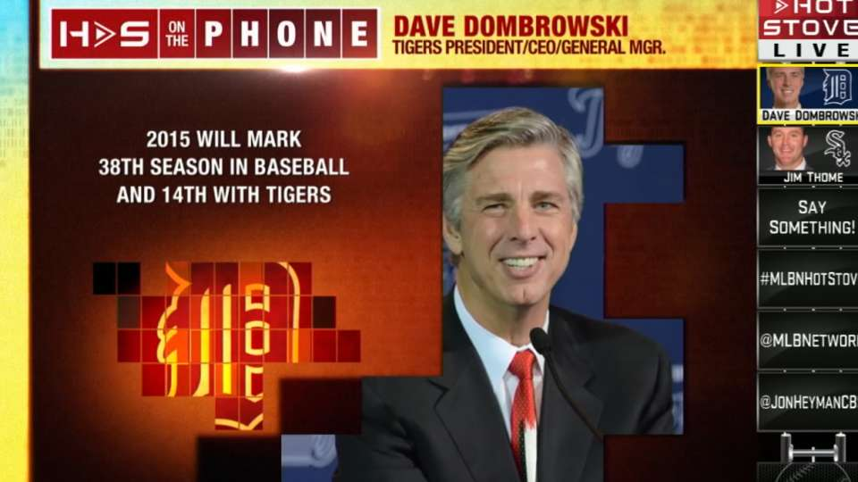 Dombrowski joins Hot Stove