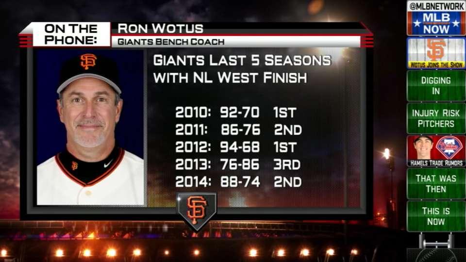 Ron Wotus calls MLB Now