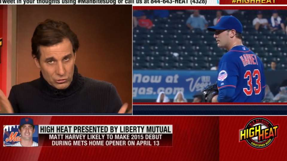 Russo on Matt Harvey's return