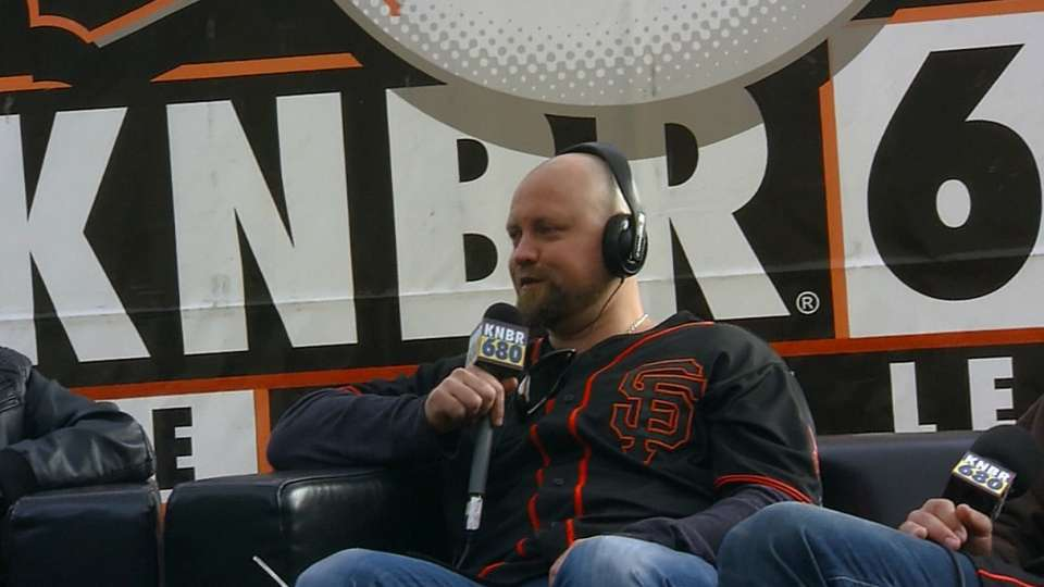 McGehee on joining the Giants