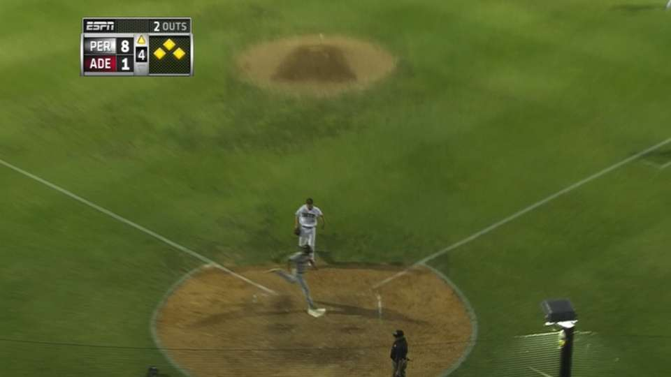 Wild pitch adds to Perth lead