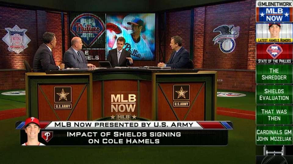 MLB Now on Shields, Hamels