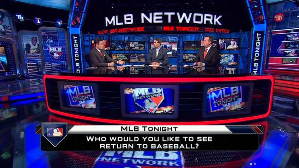 MLB Tonight: Returning players