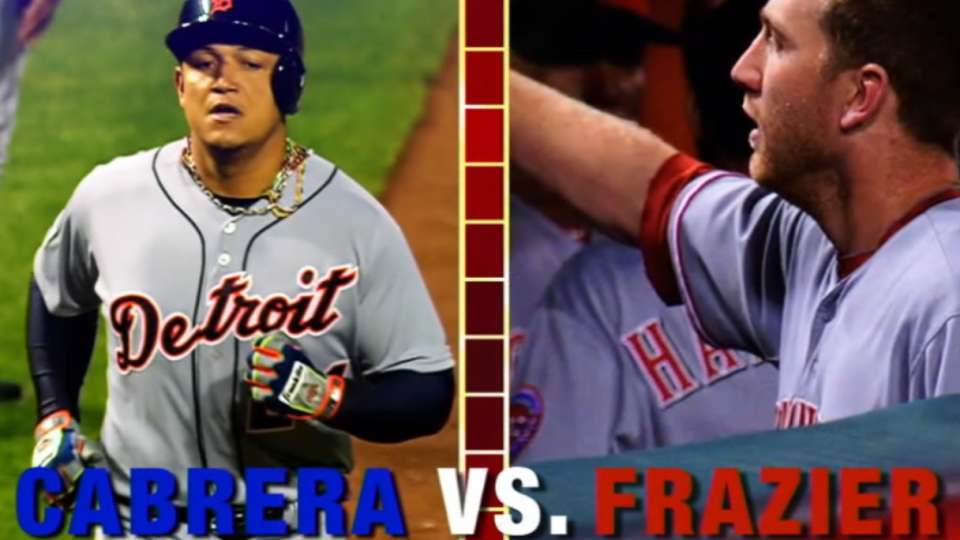 Face of MLB: Miggy vs. Frazier