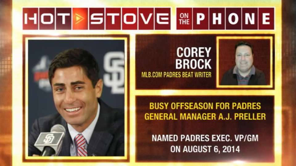 Hot Stove: Brock on Padres