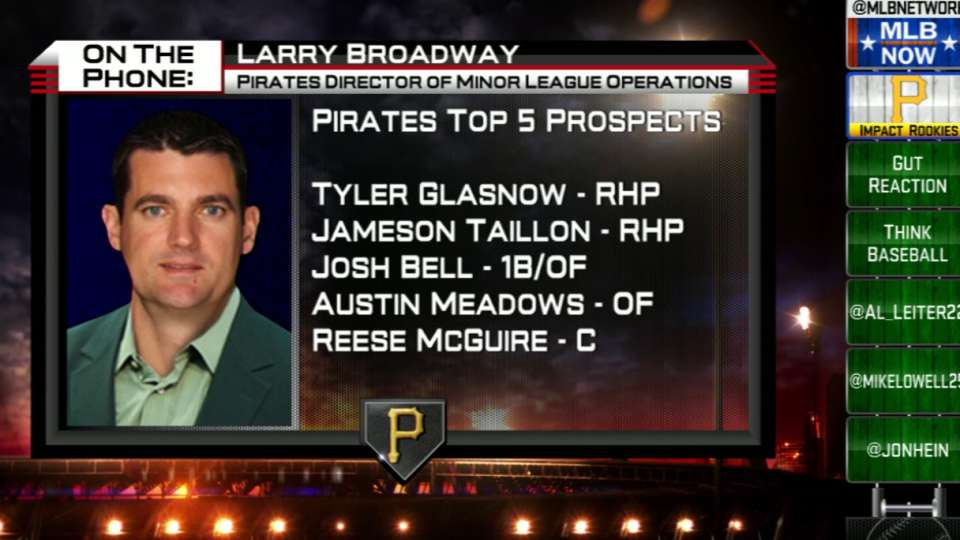 Larry Broadway joins MLB Now