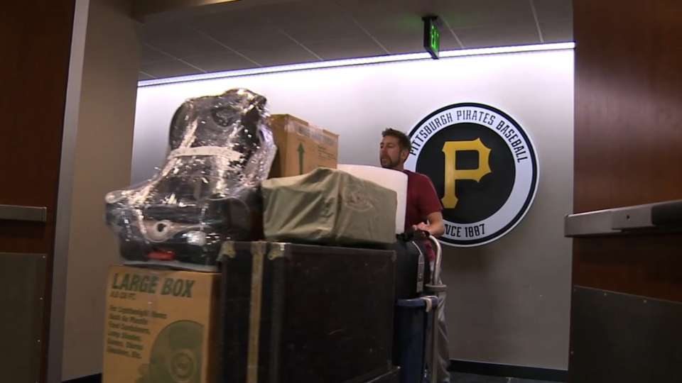 Pirates pack truck for spring