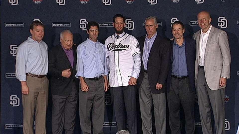 Shields introduced in San Diego