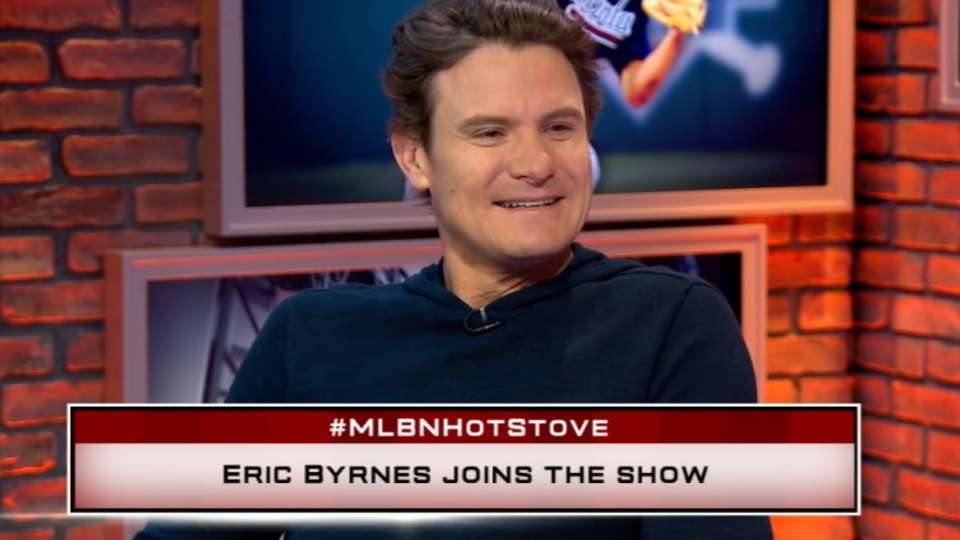 Eric Byrnes joins Hot Stove set