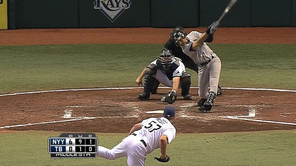 McGee's first MLB strikeout