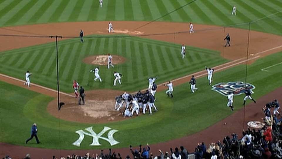 TV, radio calls of Yanks' win