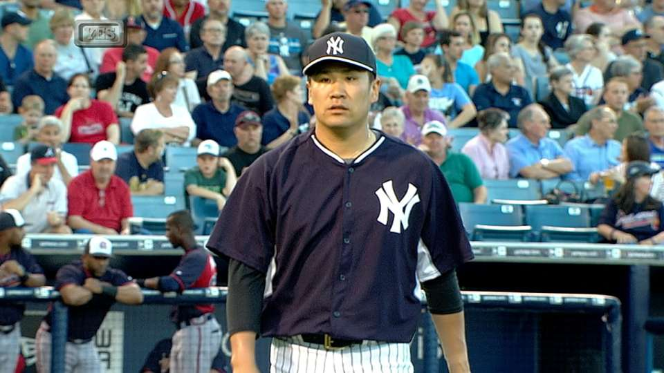 Tanaka's Spring Training debut