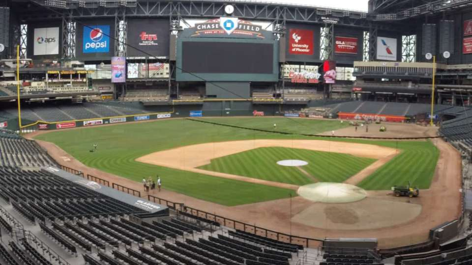 Chase Field Installation