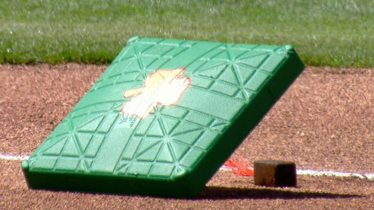 MLB goes green for St. Patrick s Day games  3bbc8f23205