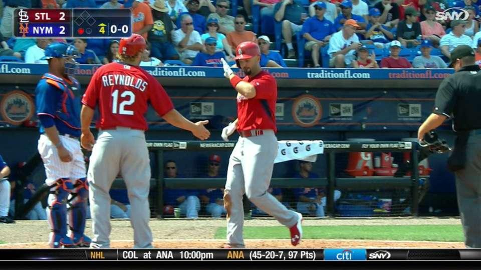 Moore's two-run home run