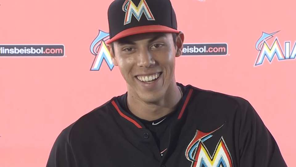 Yelich on seven-year extension