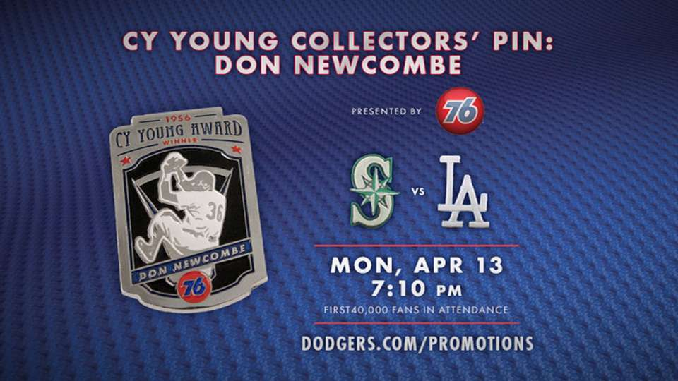 Dodgers Cy Young Collectors' Pin