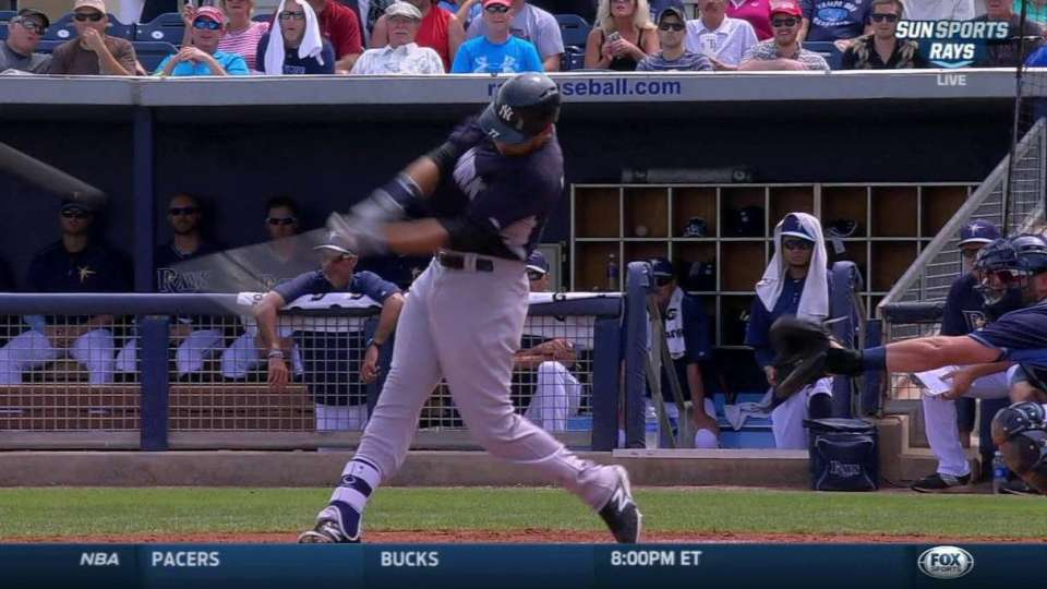 Flores' two-run double