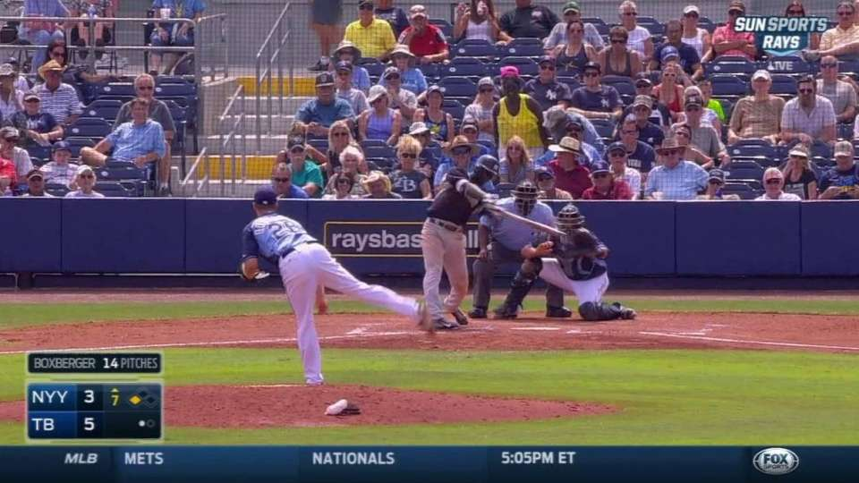 Gregorius' RBI double in the 7th