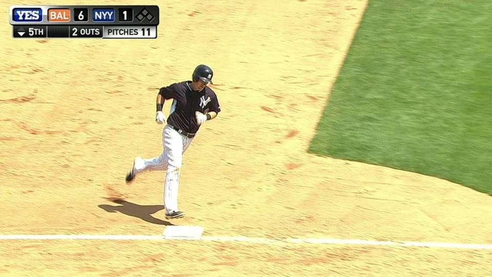 Drew's solo home run
