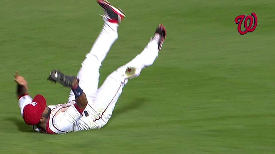 Span's game-saving catch
