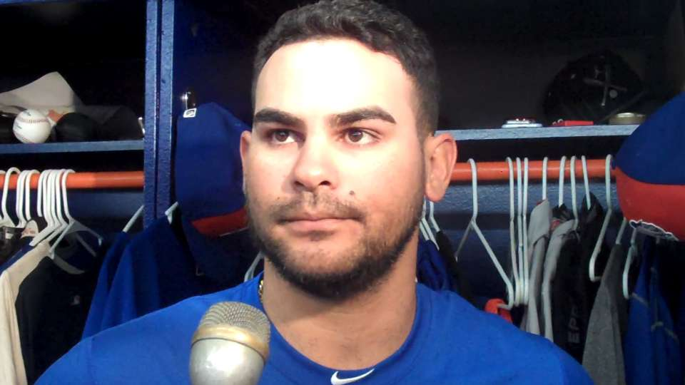 Torres discusses trade to Mets