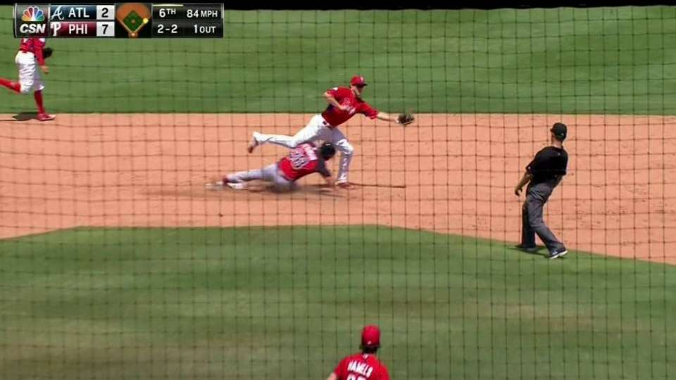 Phillies' double play