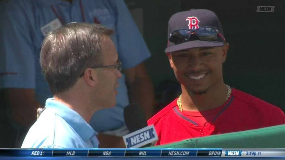 Betts on upcoming season