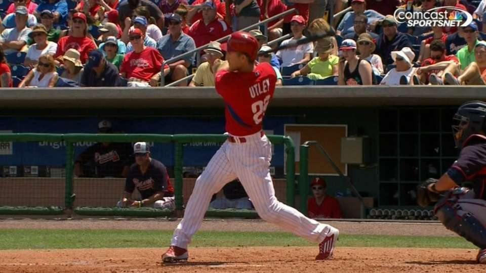 Utley's two-homer game