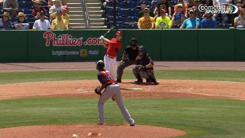 Phillies hit four home runs