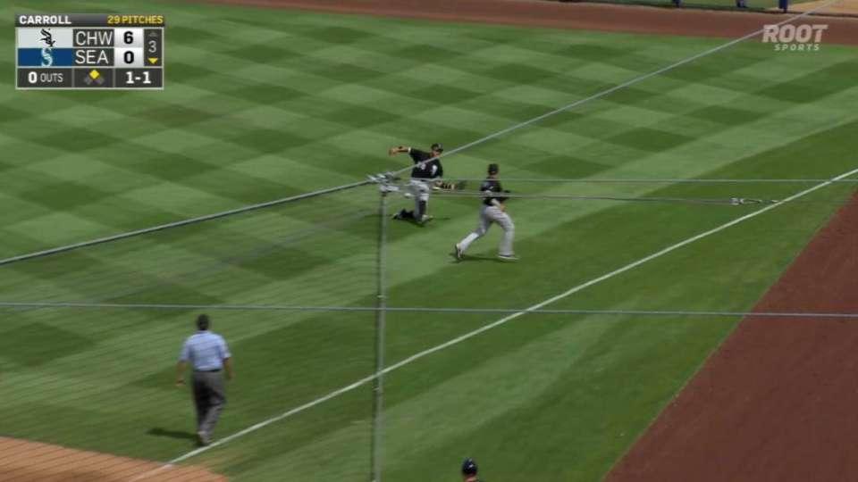 Garcia's sliding catch