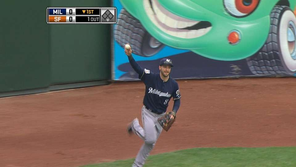 Braun's incredible catch