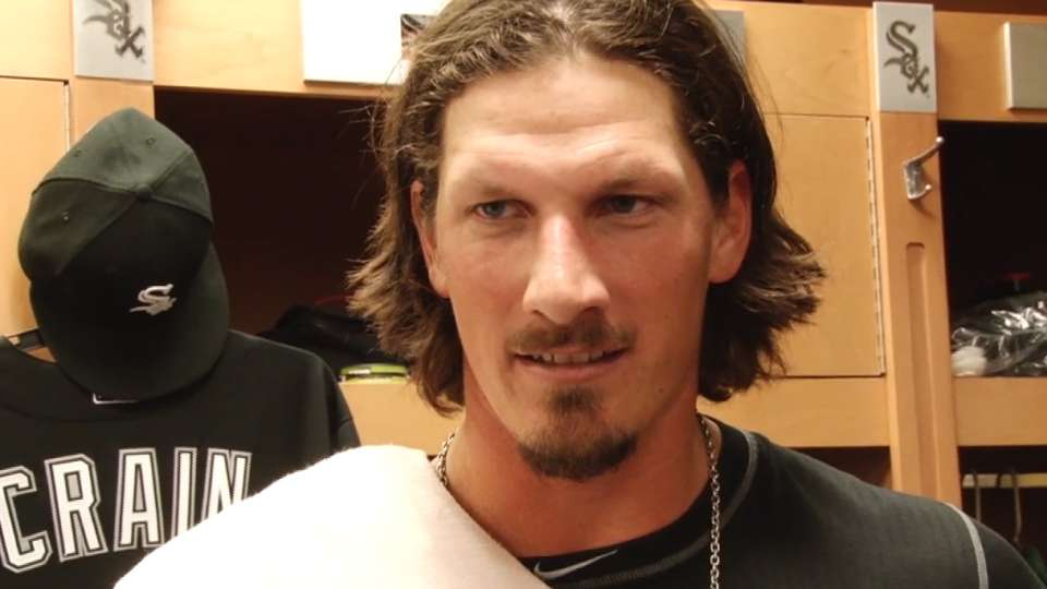 Samardzija on his outing