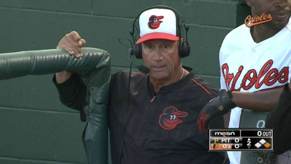 Russell gives update on Wieters