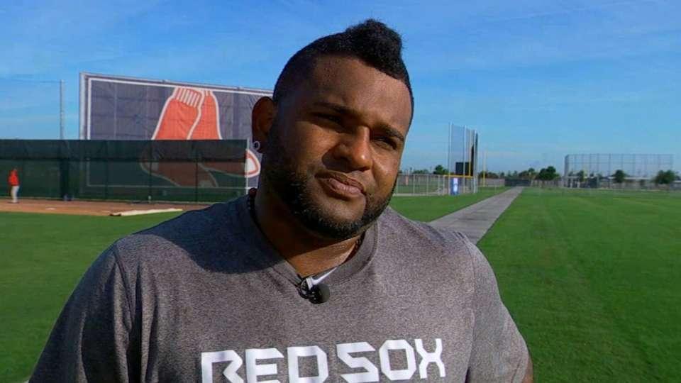 Sandoval on Red Sox's chemistry