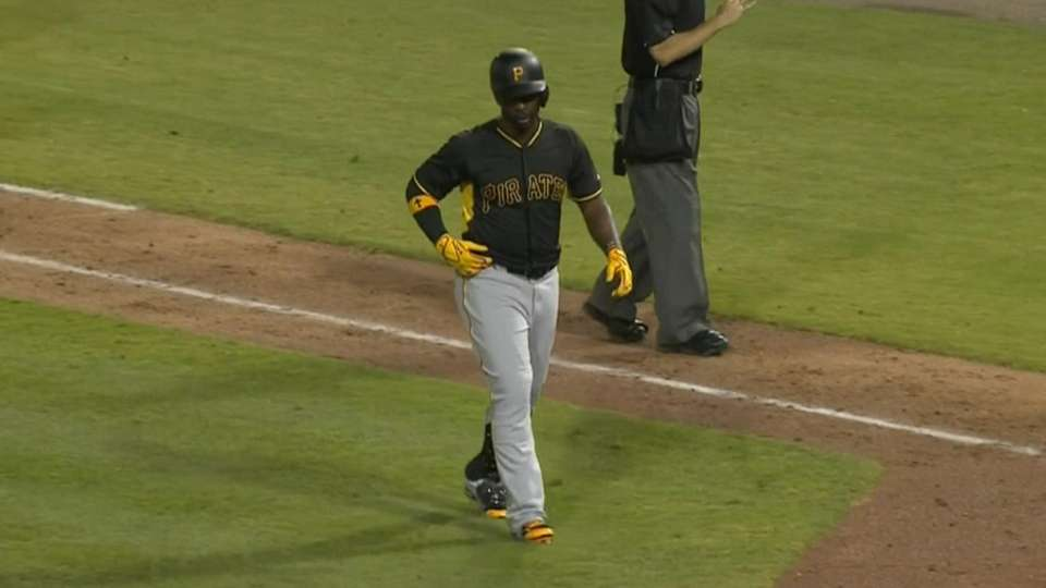 McCutchen leaves game early