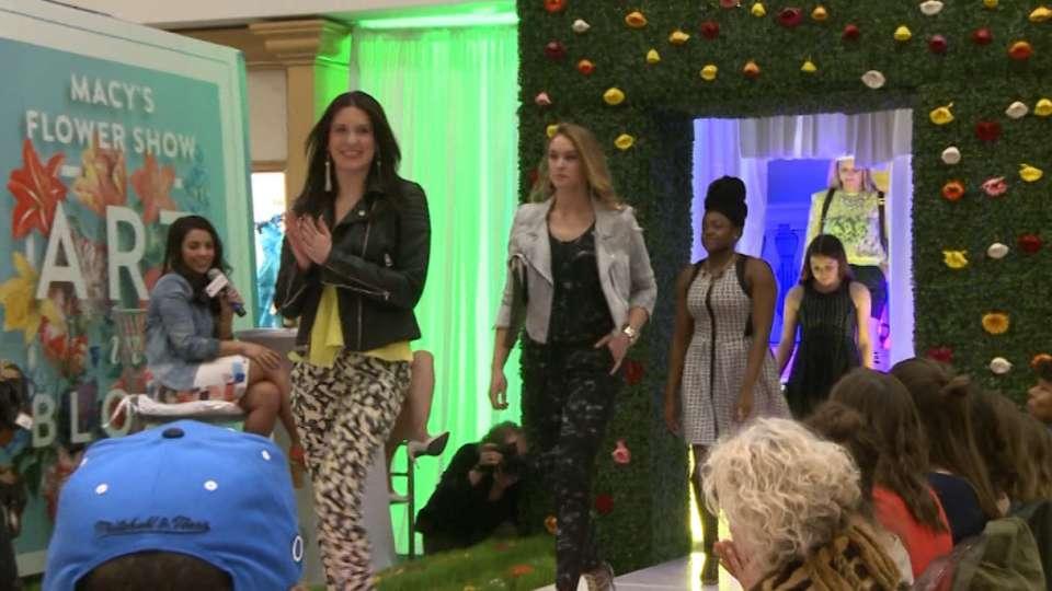 Phillies Ballgirls Fashion Show