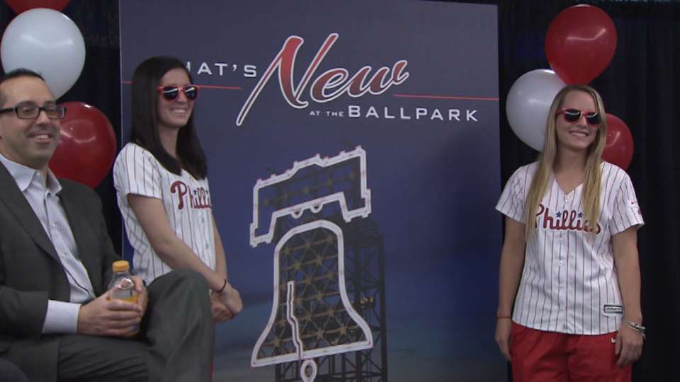 What's new at Citizens Bank Park