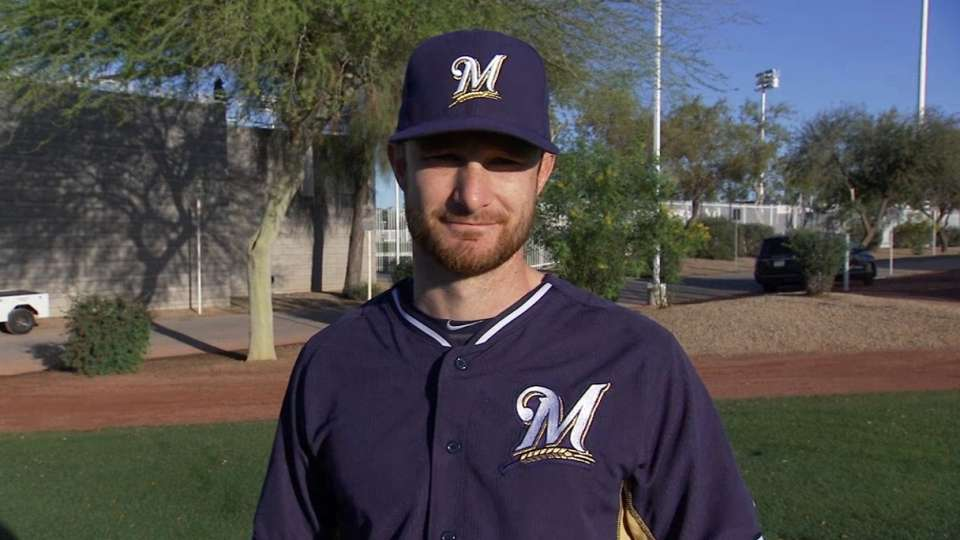 Lucroy's Opening Day moment