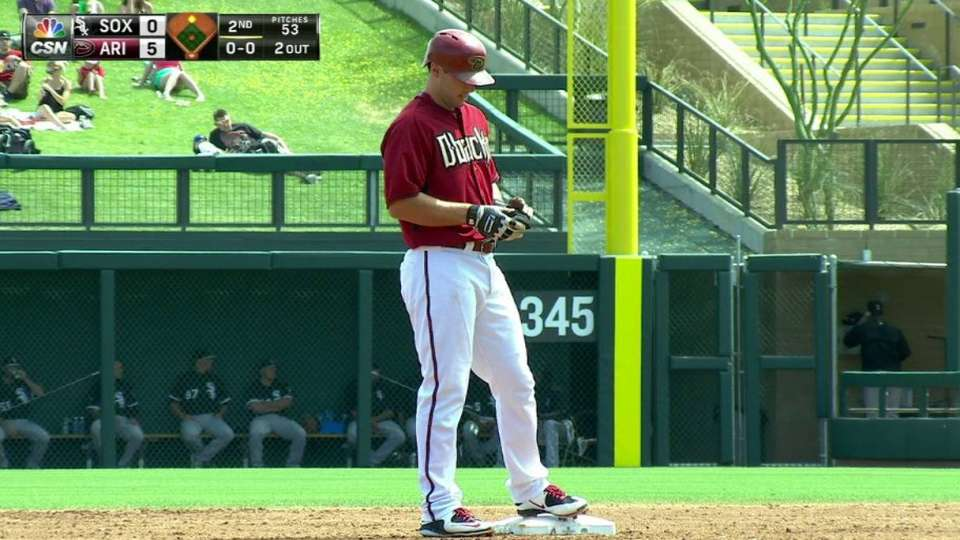 Goldy's second RBI double